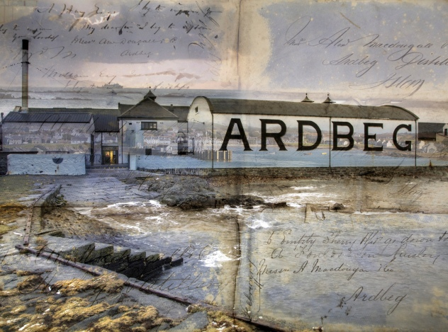 Ardbeg Distillery from the pier