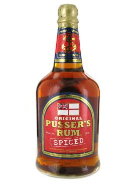 Pussers spiced