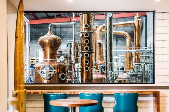 Manly Spirits Co Distillery and Tasting Bar. Image Alana Dimou